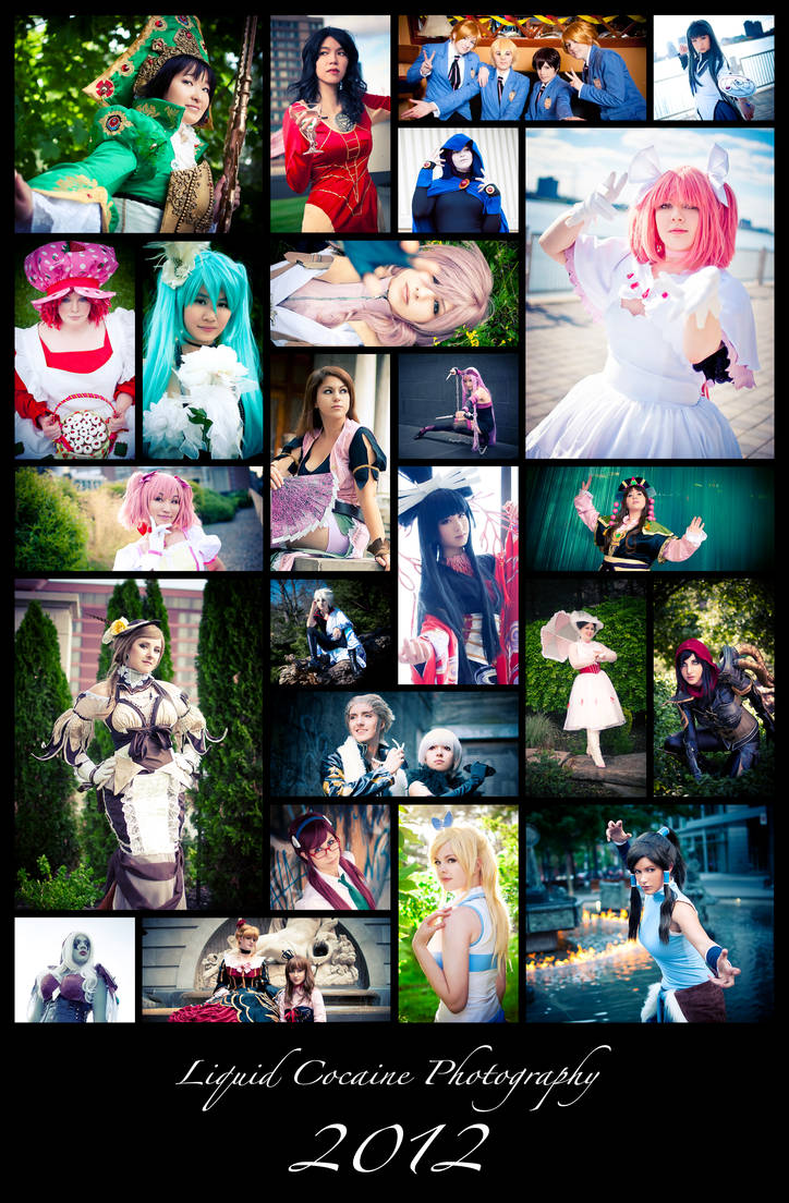 LCP Collage - 2012 by LiquidCocaine-Photos