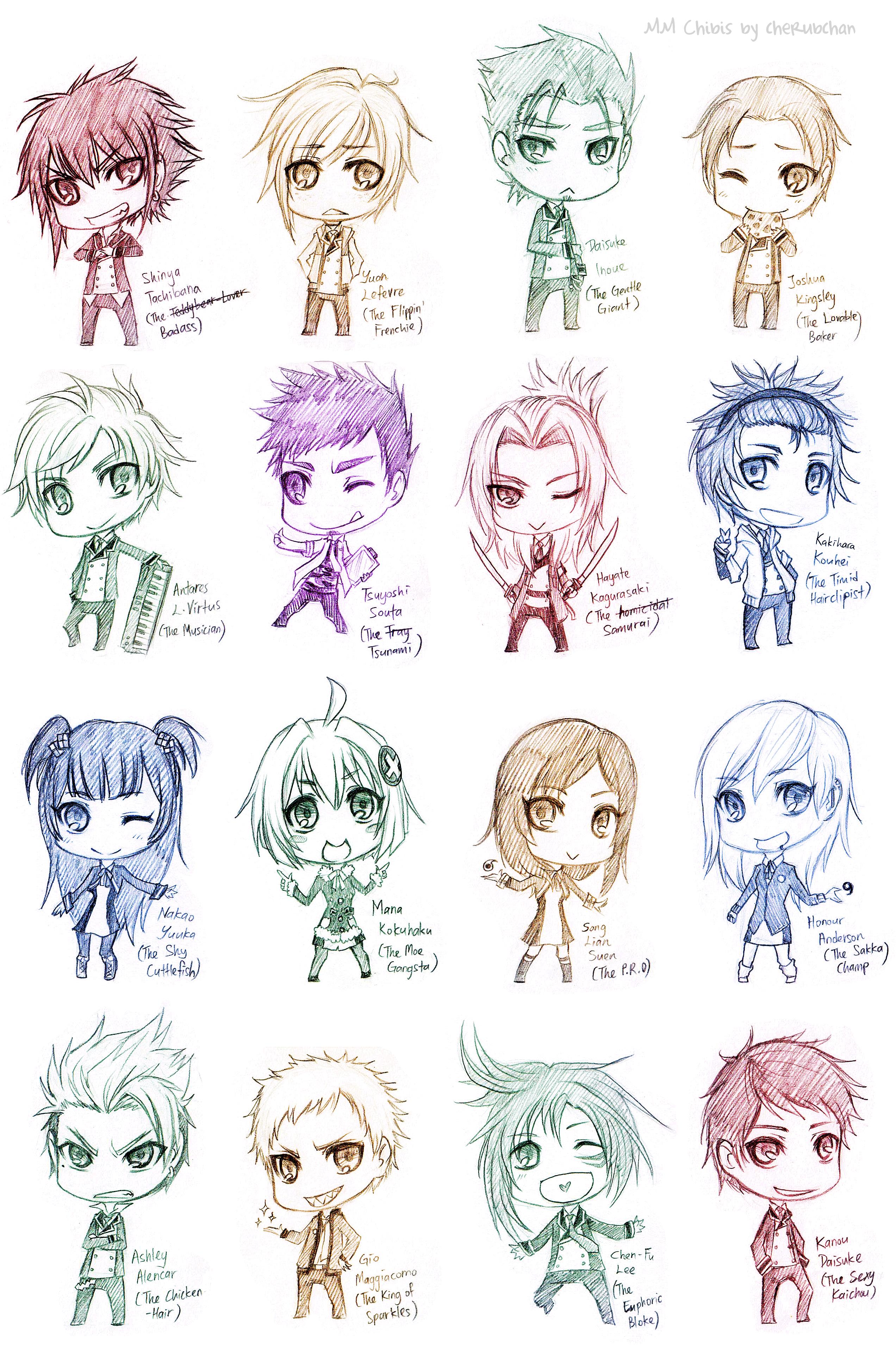 Cute Chibi Anime Characters Chibi Anime Characters