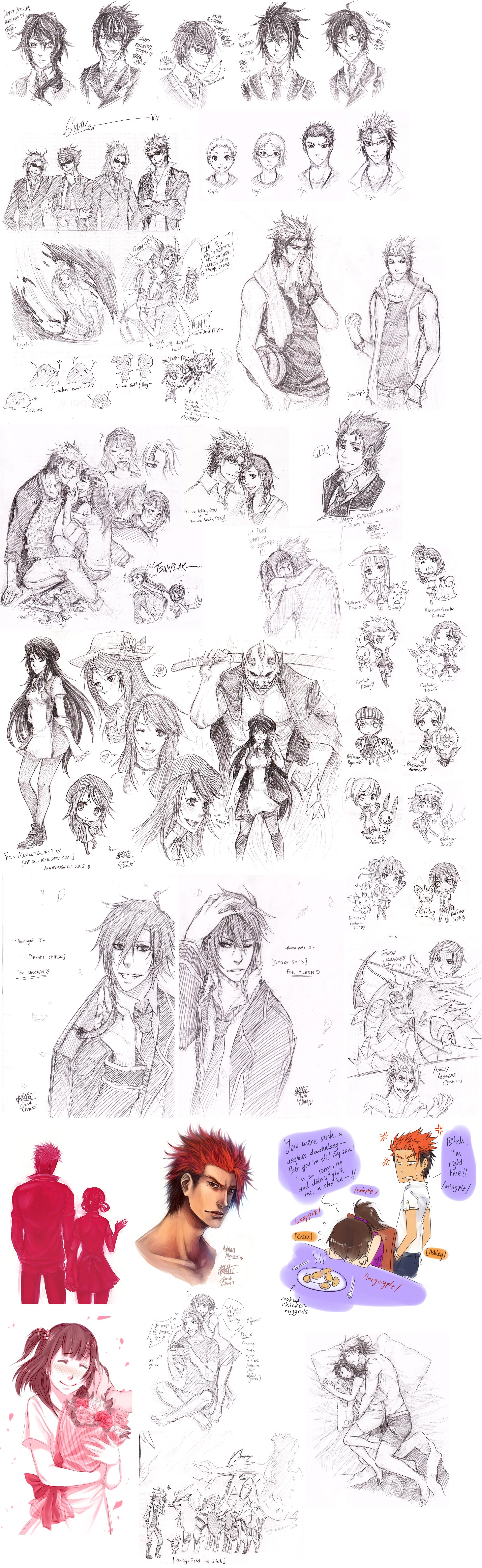 MM Sketchdump 13092012 by cherubchan