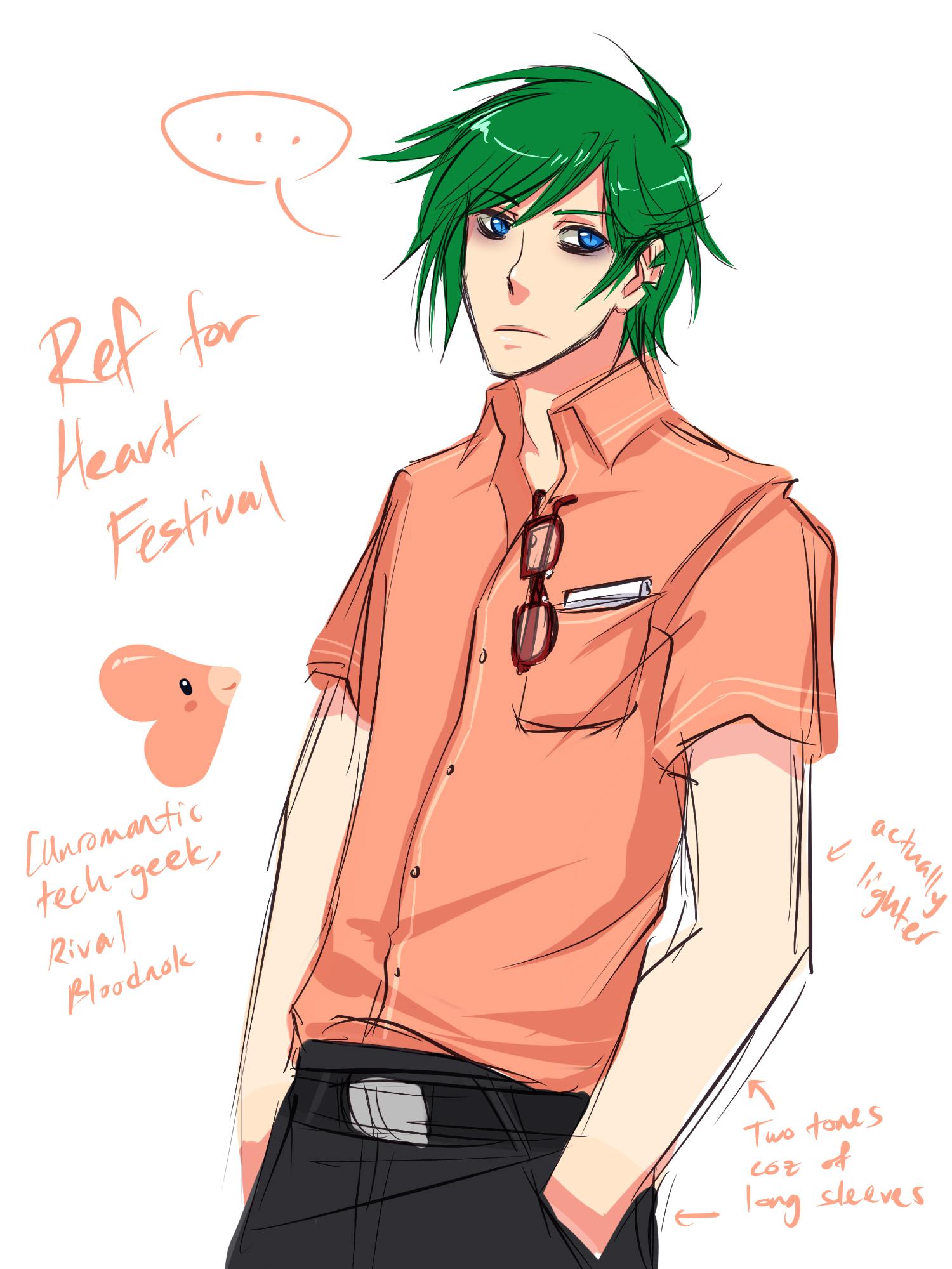 cE: Heart Fest ref by cherubchan