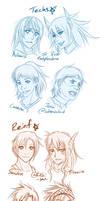 CC: JM Headshot sketches