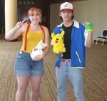 Ash and Misty Cosplay 2
