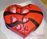 Valentine cake II.