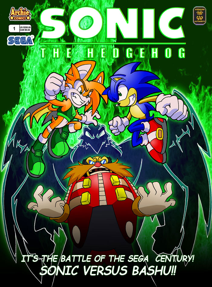 Sonic - Sylvanna Mock Cover by dawnbest