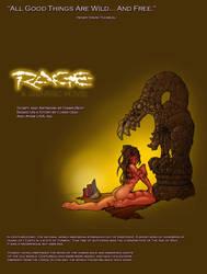PRIMAL RAGE Comic Frontispiece by dawnbest