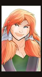 Greta Profile Illustration by dawnbest