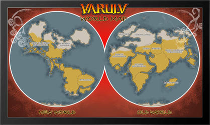 Varulv World Map by dawnbest