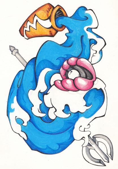 Aquarius Tattoo Idea By IBluGirl On DeviantArt