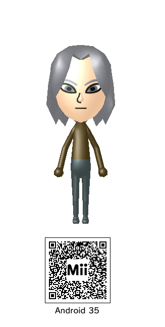 Android 17 Mii QR Code by Knuxamyloverfan on DeviantArt