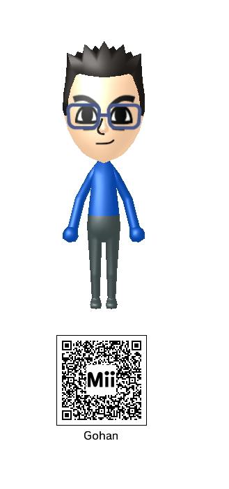 Gohan Mii QR Code by Knuxamyloverfan on DeviantArt