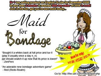 Maid for Bondage by Bgagger
