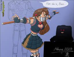 Athena, Bg version by Bgagger