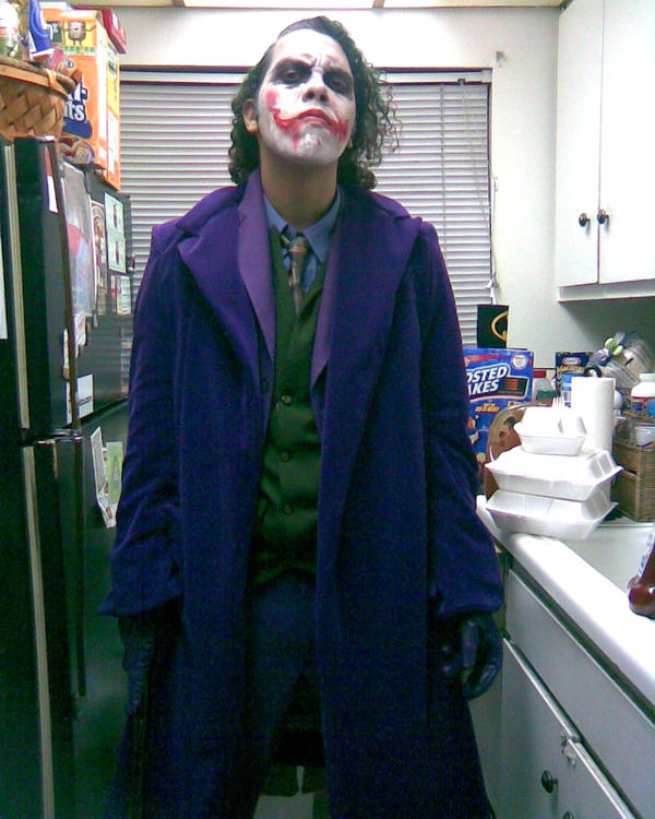Joker costume 2 by Thrash618