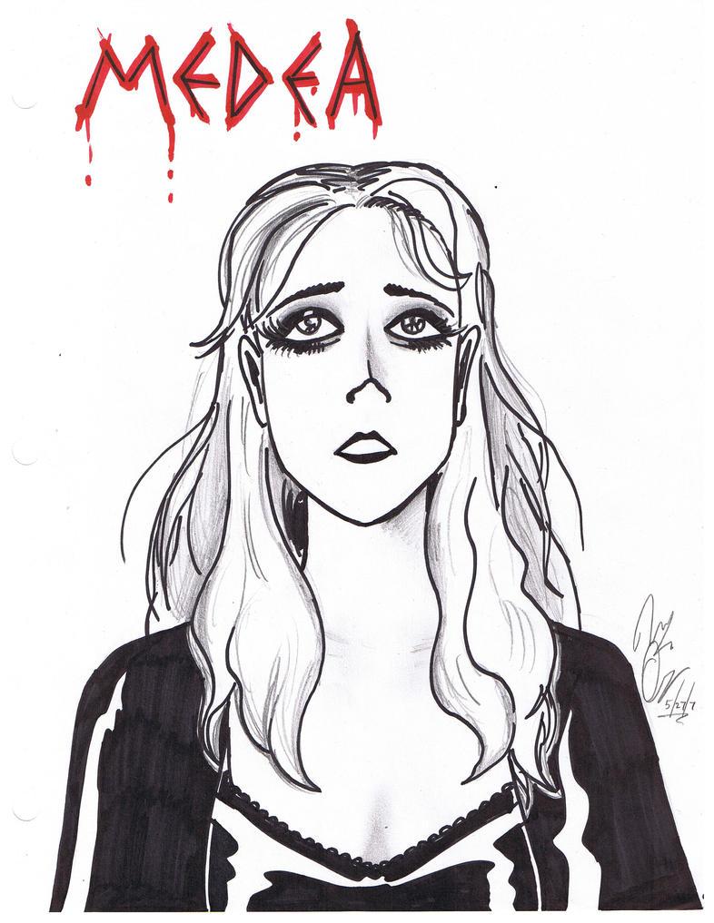 Medea - poster by Thrash618