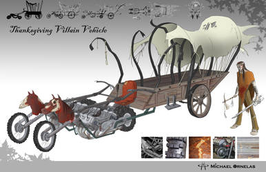 Thanksgiving Villain Vehicle by Thrash618