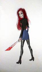 Heather - Zombie Killer by Thrash618