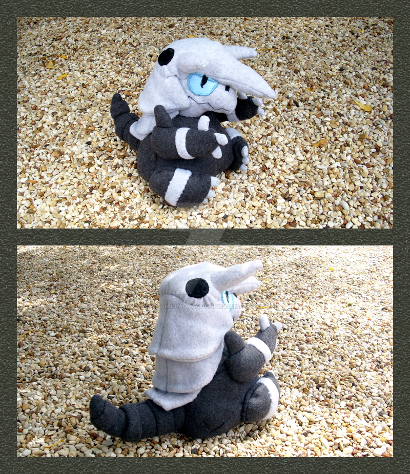 Aggron Plushie. by ChinchillaDragoon