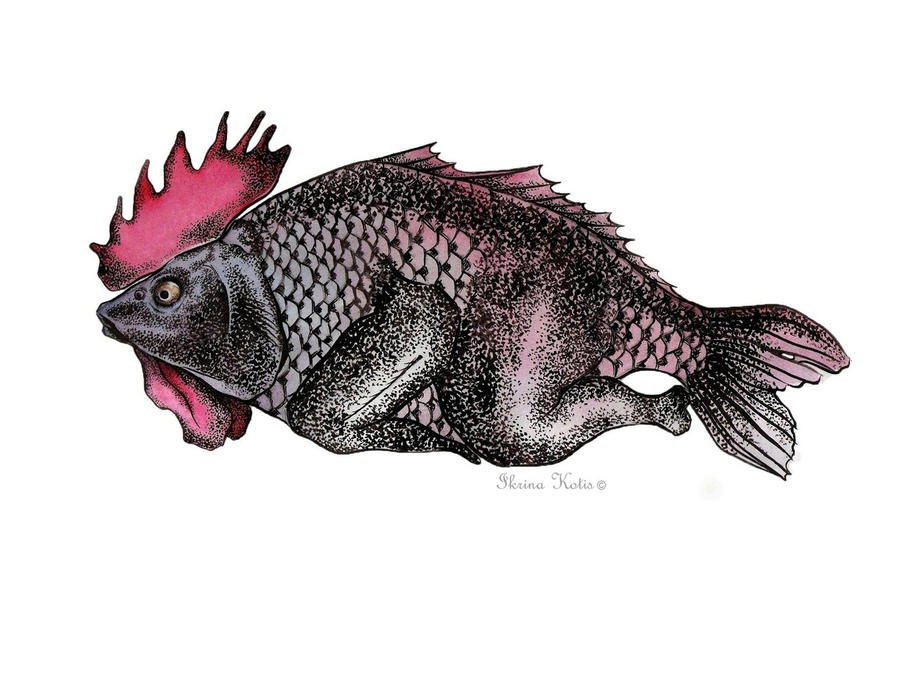 Chicken fish by kotis ikrina on deviantart for Fishers chicken and fish