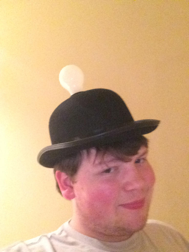 my thinking cap by powerkidzforever