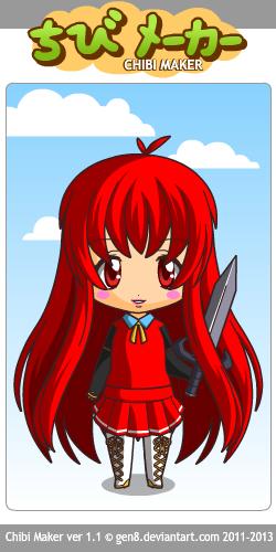 Chibi Nancy by powerkidzforever