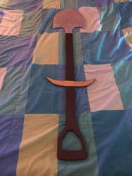Shovel Knight Sword by powerkidzforever