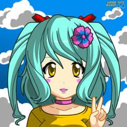Anime Sapphire