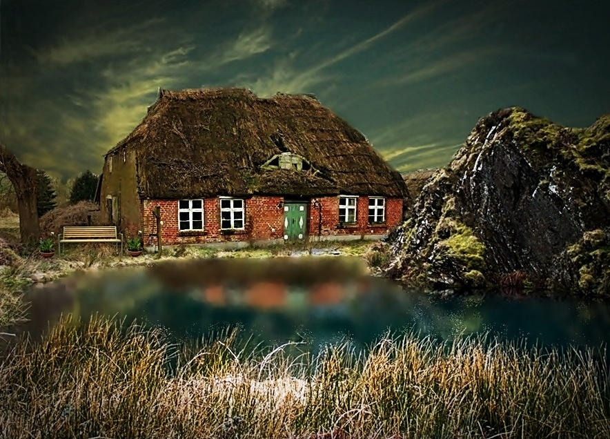 House by the Lake by poisen2014