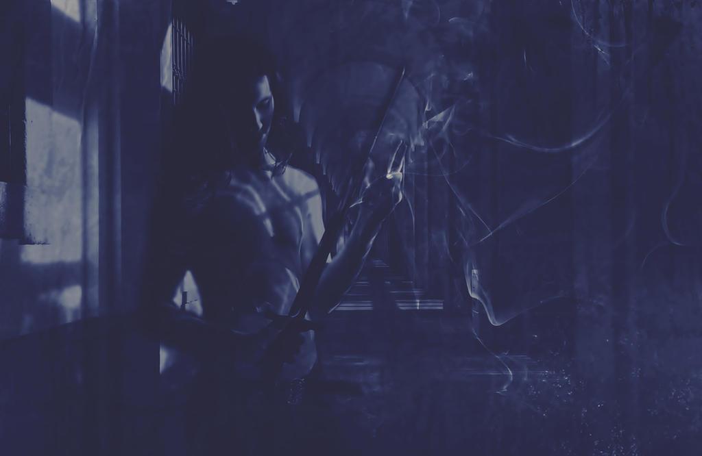 in the dark of Night by poisen2014