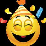 The Party Emoticon