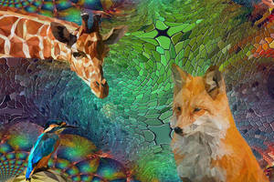 abstract animals by poisen2014