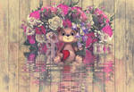 little Teddy with love by poisen2014