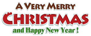 Merry Christmas and happy New Year by poisen2014