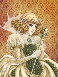 Sad Princess by LolitaAldea