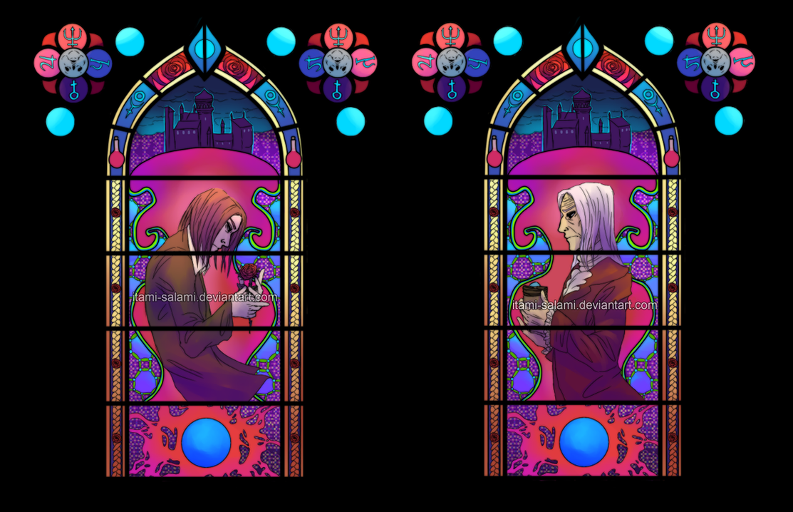 Amnesia - Stained Glass by itami-salami