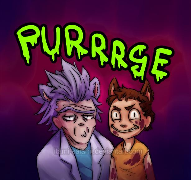 Purrrge by itami-salami