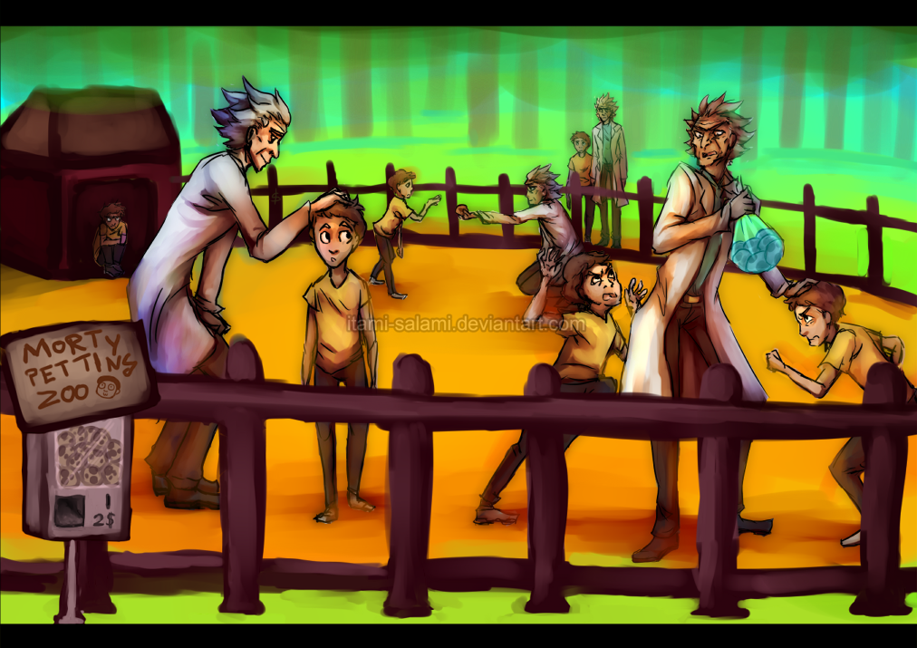Morty Petting Zoo by itami-salami
