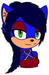 Trinity the Hedgehog by xXxBulletproofxXx