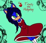 Trinity the Hedgehog in a dress by xXxBulletproofxXx