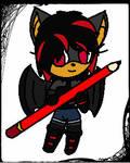 Chibi Sydney the Bat by xXxBulletproofxXx