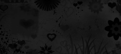 Grunge Love Background by xXxBulletproofxXx
