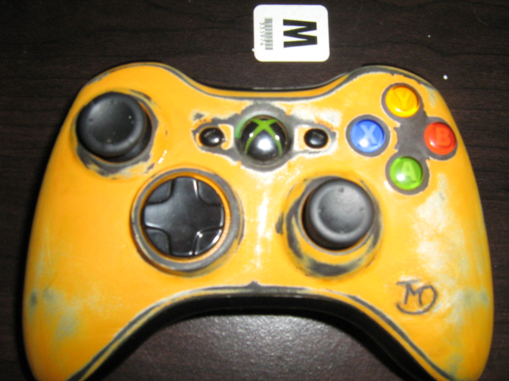 Custom Painted Xbox 360 Controller by Pyronide on DeviantArt