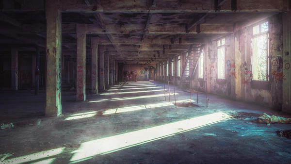 Urban Morning by Greentinn