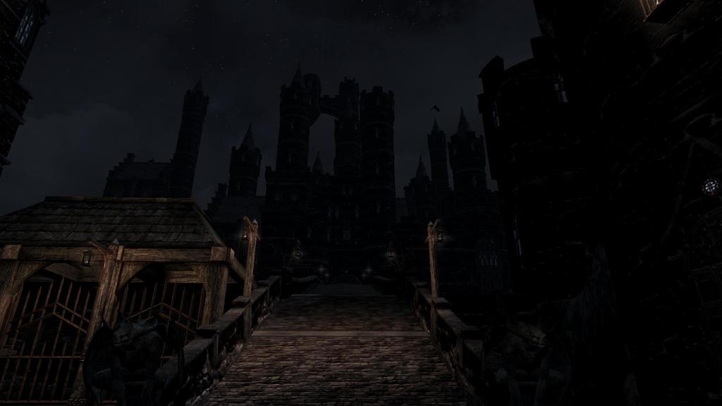 Raven Castle by NeonBlacklightTH