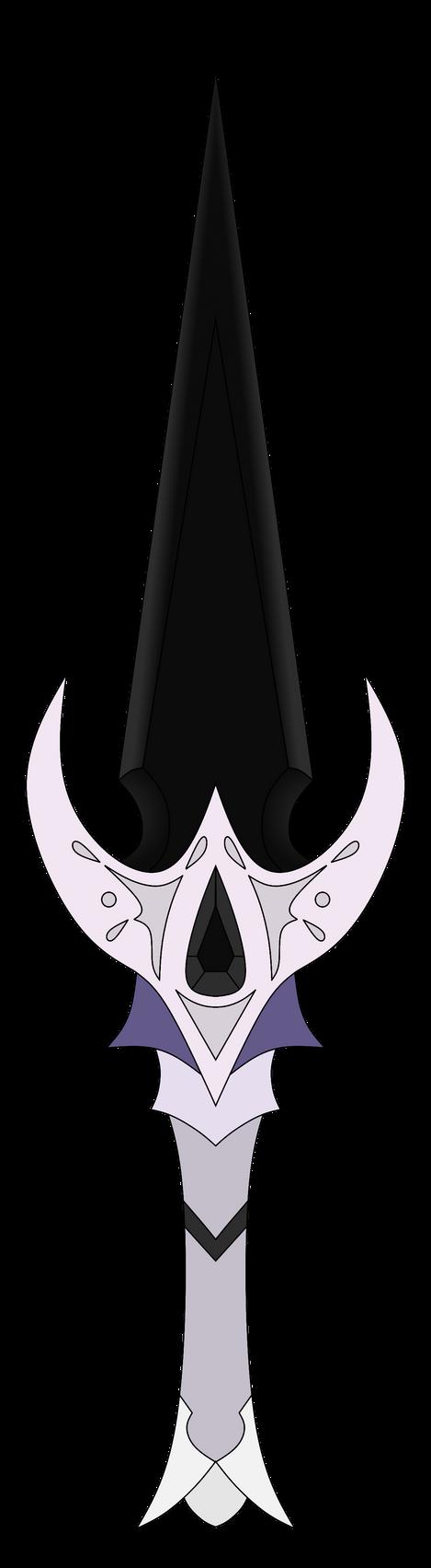 SugahFox's Onyx Dagger by NeonBlacklightTH