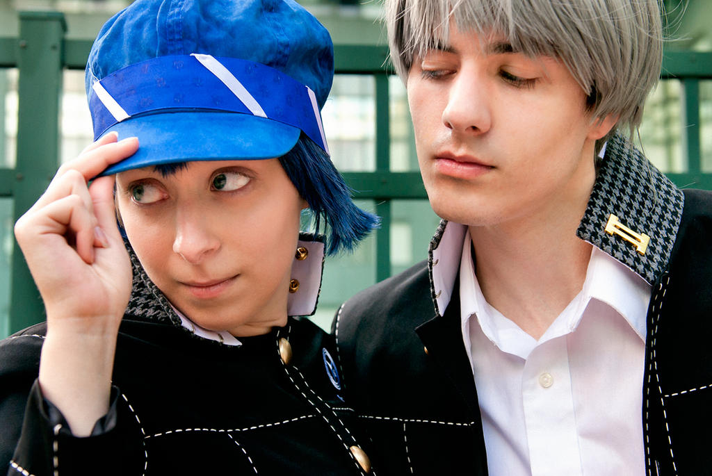 Persona 4 - Yu and Naoto by BLUEsteelProductions
