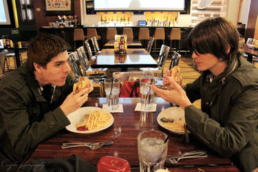 SPN: Another Dinner Out
