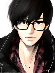 glasses by tknk