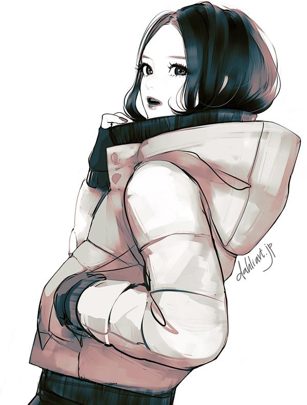 down jacket by tknk