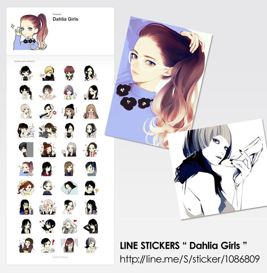LINE Stickers by tknk