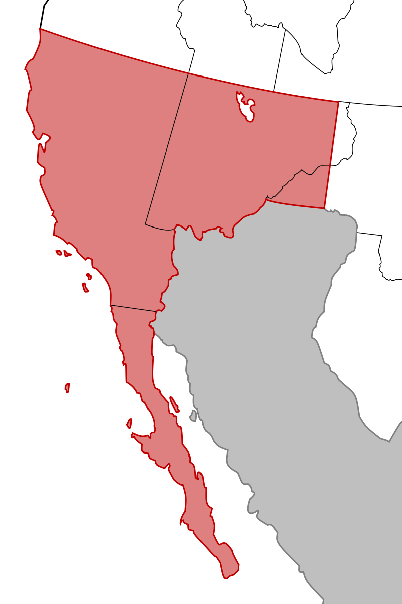 a history of the mexican cession Background the treaty of guadalupe hidalgo national history day california and new mexico this was known as the mexican cession and included present-day.